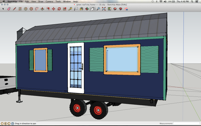 more recent sketchup